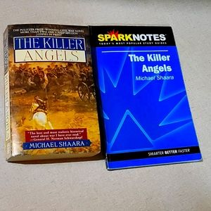 The killer angels & spark notes study guide bundle